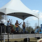 Bert & the Skinny Lizards at the Lion's Seafood Festival